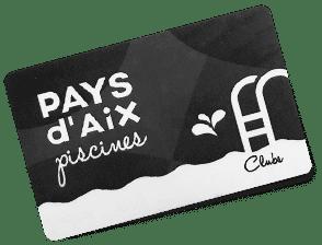 Pays d'Aix Piscine carte club