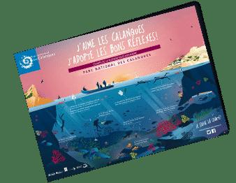 Charte de la plongée en scaphandre Parc National des Calanques