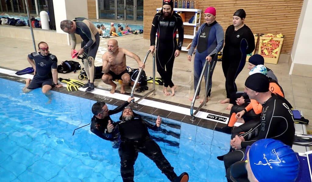 Exercice RIFAP en piscine - AixPlo février 2020
