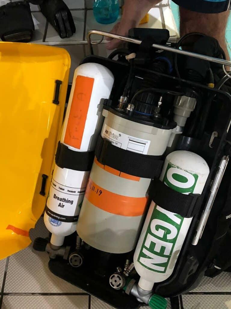 Ouverture du recycleur de plongée - AixPlo novembre 2019