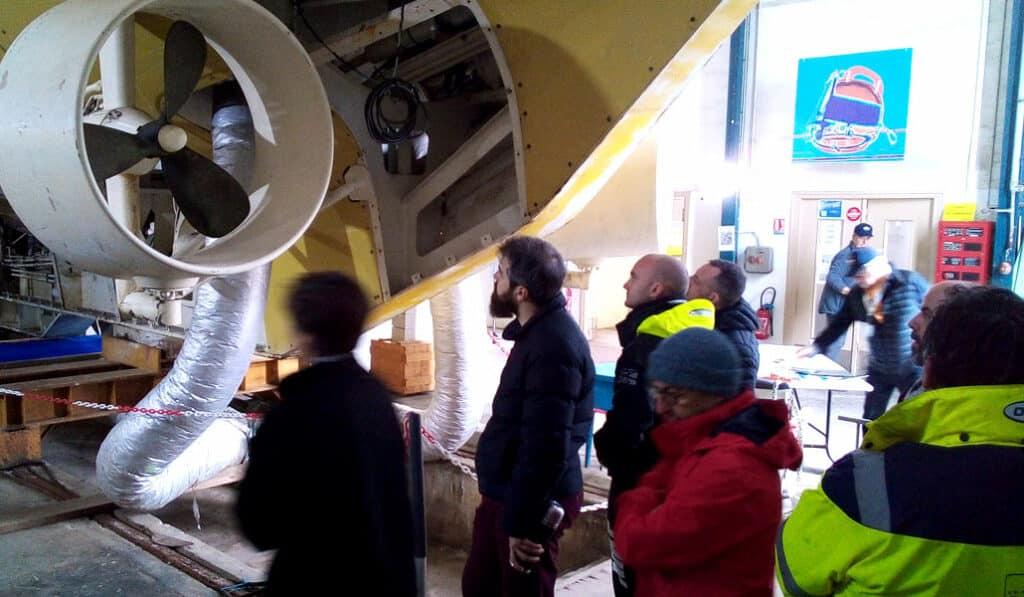 Visite du sous-marin SAGA à l'Estaque (Marseille) - AixPlo février 2020